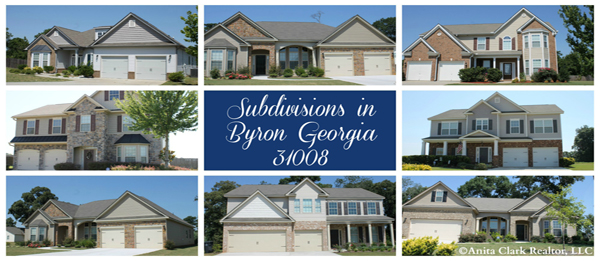 Subdivisions in Byron Georgia 31008