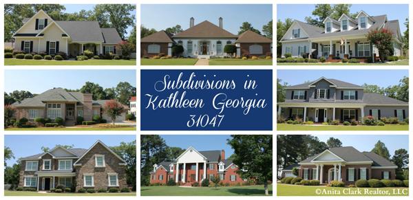 Subdivisions in Kathleen Georgia 31047